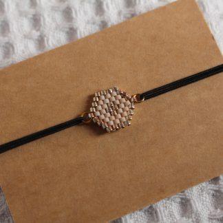 Bracelet miyuki - Beige