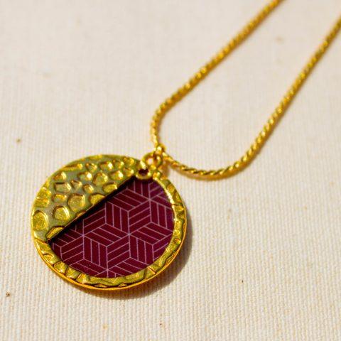 Collier - motif Jiometori - La Boutique Sozo