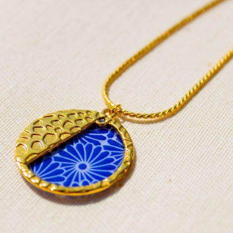 Collier - motif Taiyo - La Boutique Sozo